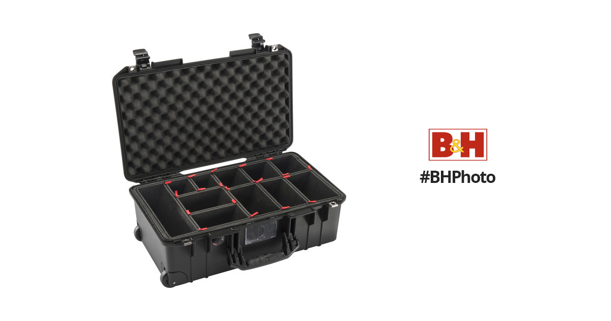 pelican 1535 airtp wheeled carry on case 015350 0050 110 b h. Black Bedroom Furniture Sets. Home Design Ideas
