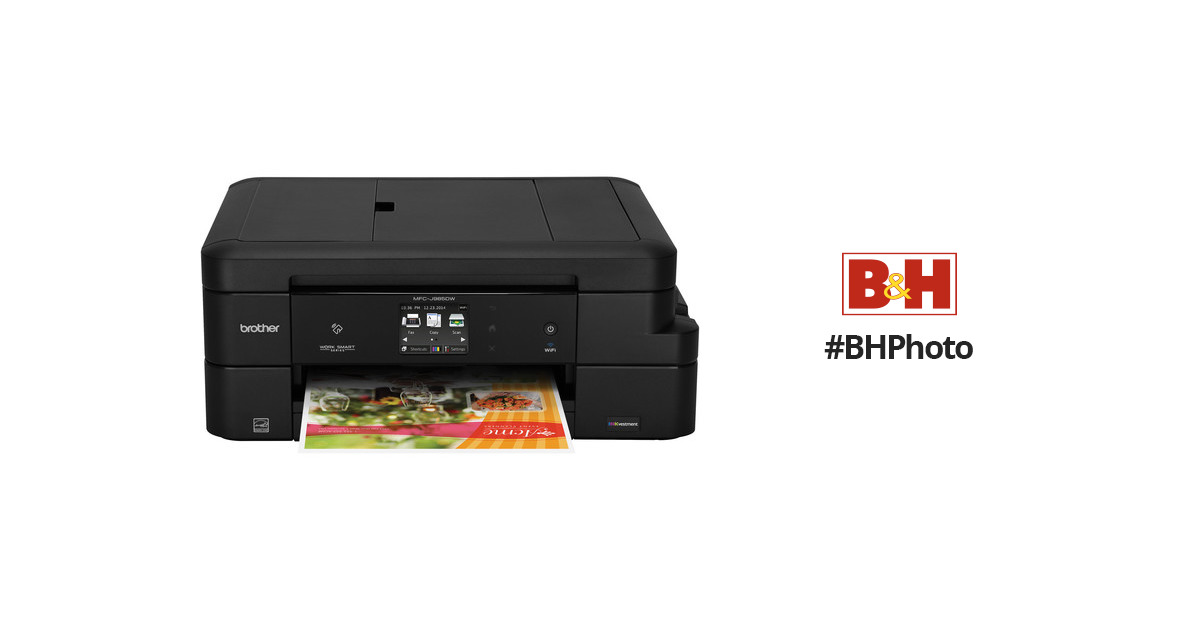 Brother Mfc J985dw All In One Inkjet Printer Mfc J985dw Bh