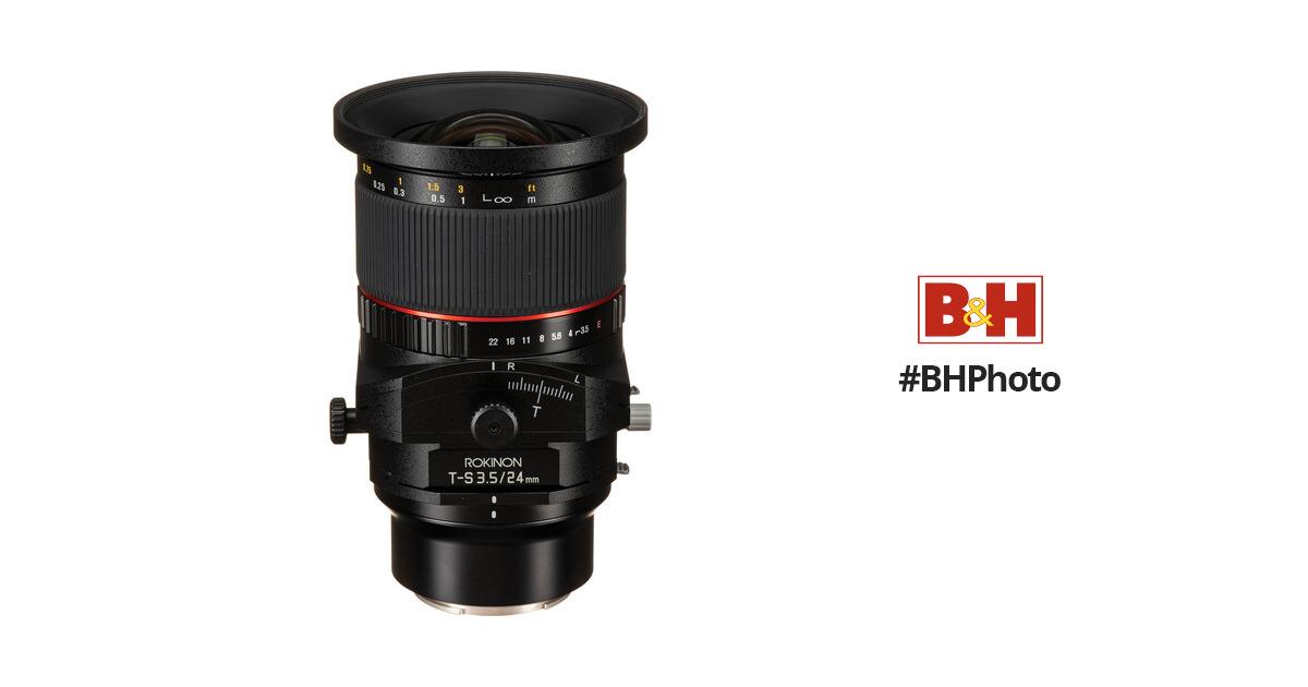 Rokinon T S 24mm F 3 5 Ed As Umc Tilt Shift Lens For Sony