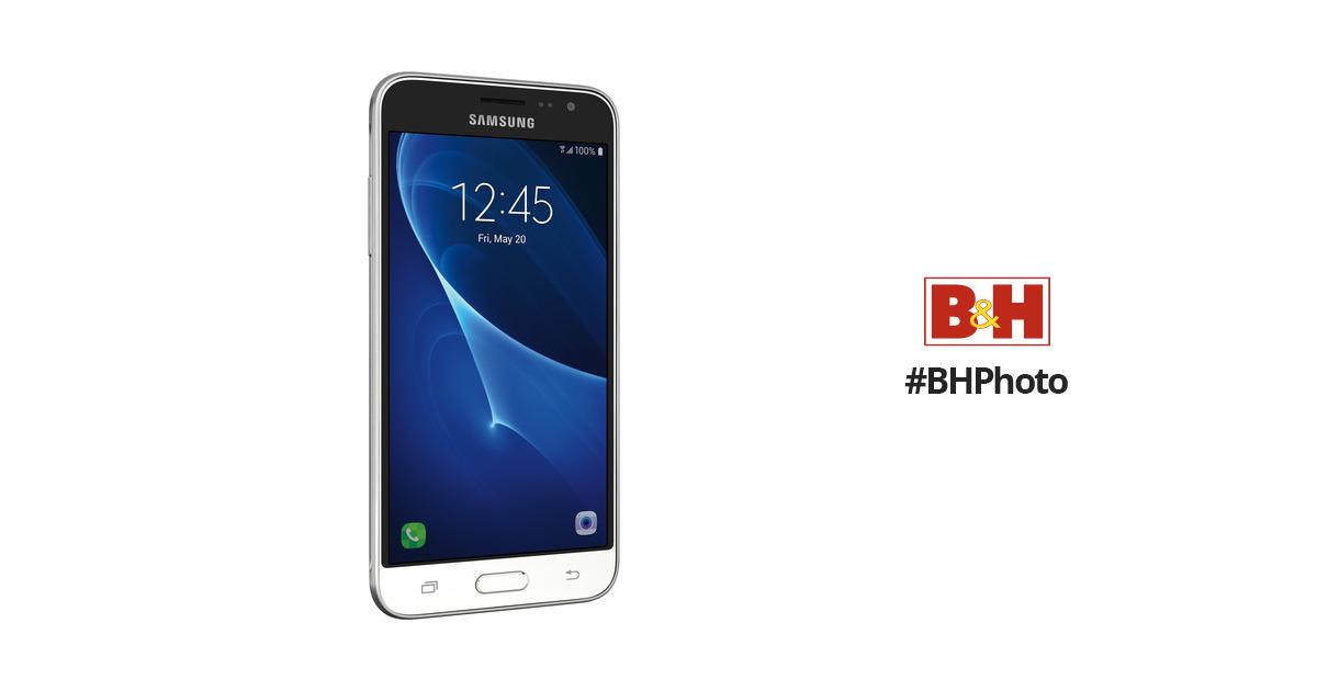 Samsung Galaxy J3 J320 16GB Smartphone SM-J320AZWAXAR B&H Photo