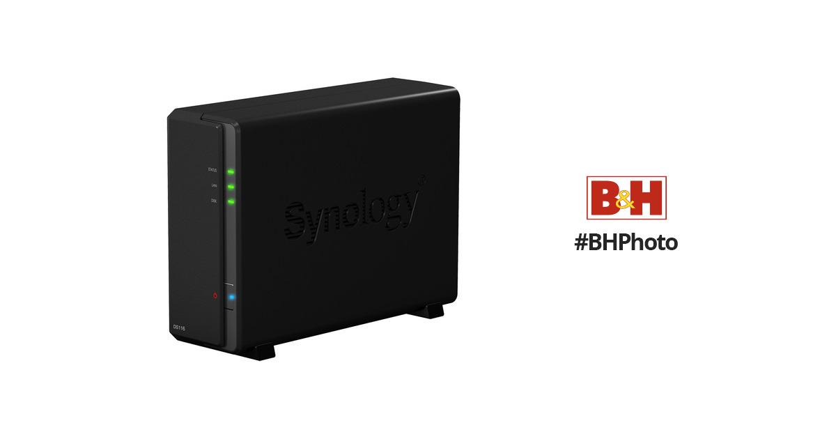 Synology DiskStation DS116 1-Bay NAS Enclosure