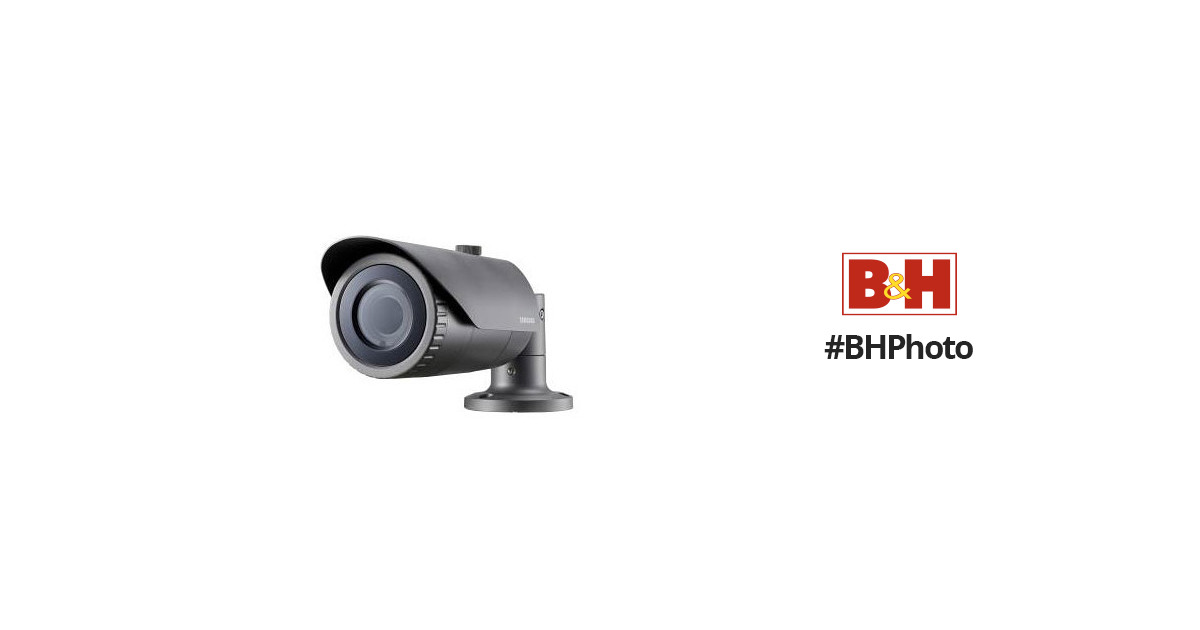 Hanwha Techwin WiseNet HD+ 2MP AHD Outdoor Bullet Camera with Night Vision