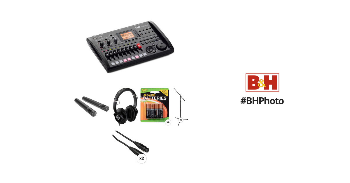 zoom r8 recorder sampler drum machine and stereo mic recording. Black Bedroom Furniture Sets. Home Design Ideas