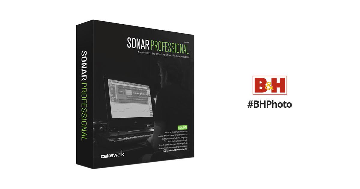 Cakewalk Sonar Professional - Music Production Software (Download)