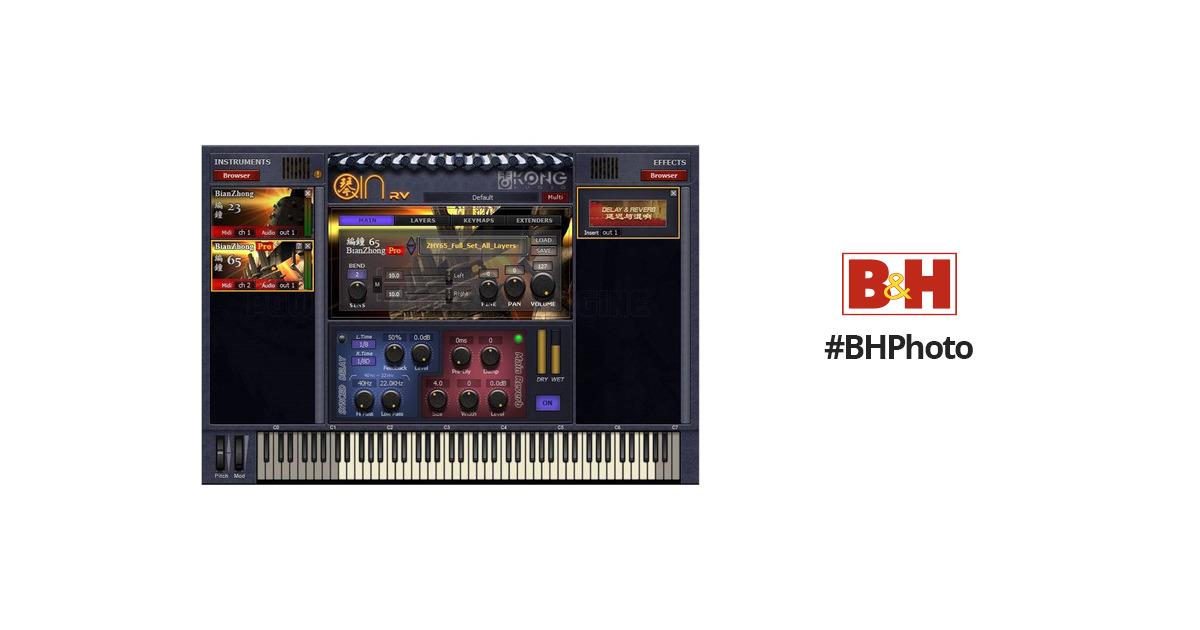 Kong Audio Bian Zhong Pro Software