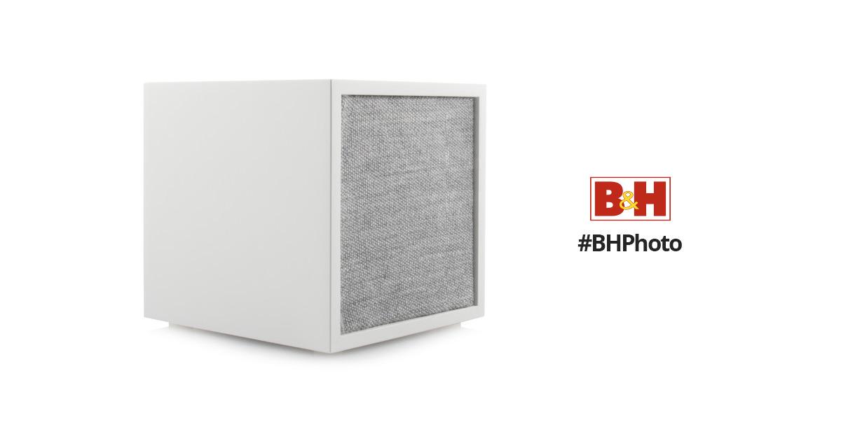 tivoli cube bluetooth wireless speaker white gray cubwht b h. Black Bedroom Furniture Sets. Home Design Ideas