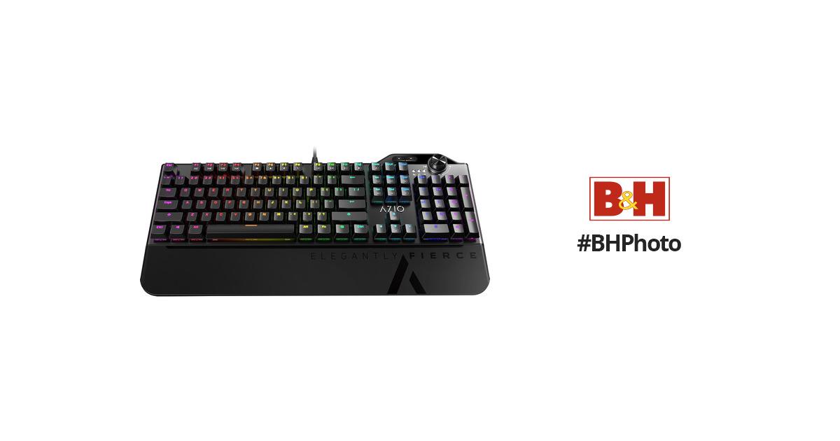 7cf6a55c5ec Used AZIO MGK L80 Backlit Mechanical Keyboard MGK1-L80-01 B&H