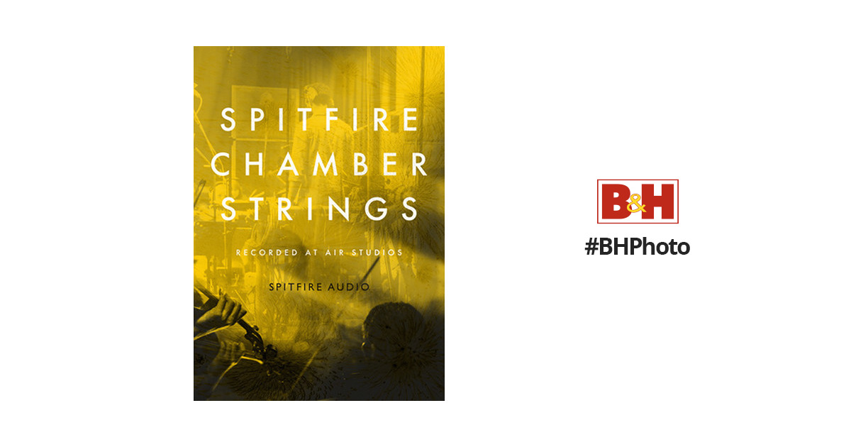 Spitfire Audio Spitfire Chamber Strings - Virtual Instrument (Download)