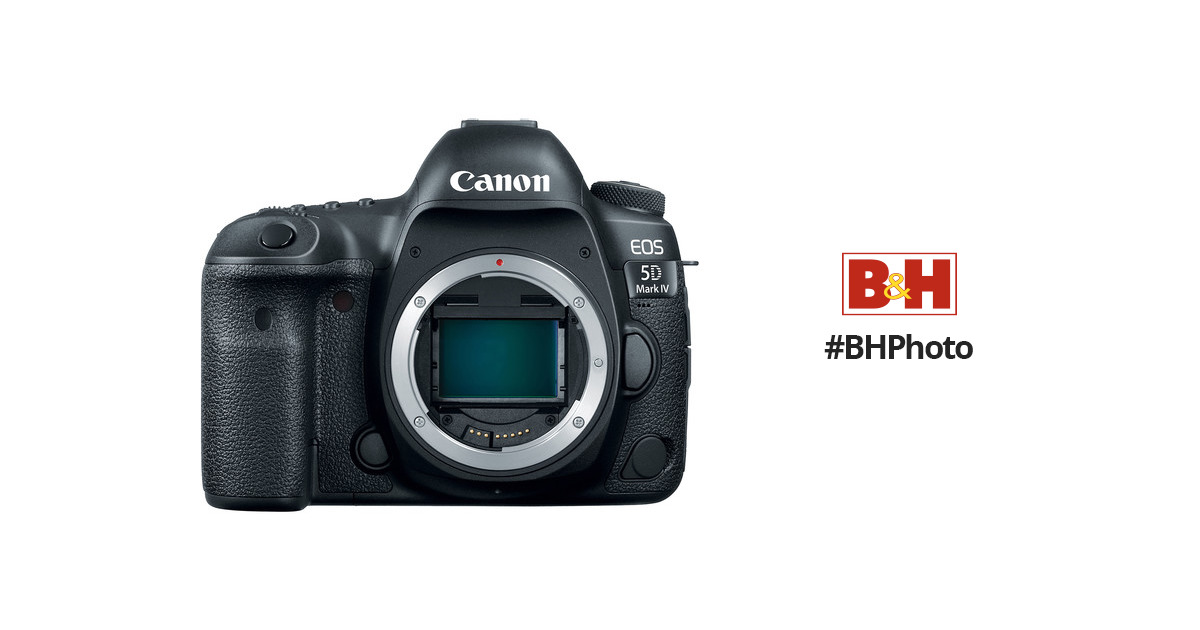 CanonEOS 5D Mark IV DSLR Camera (Body Only)