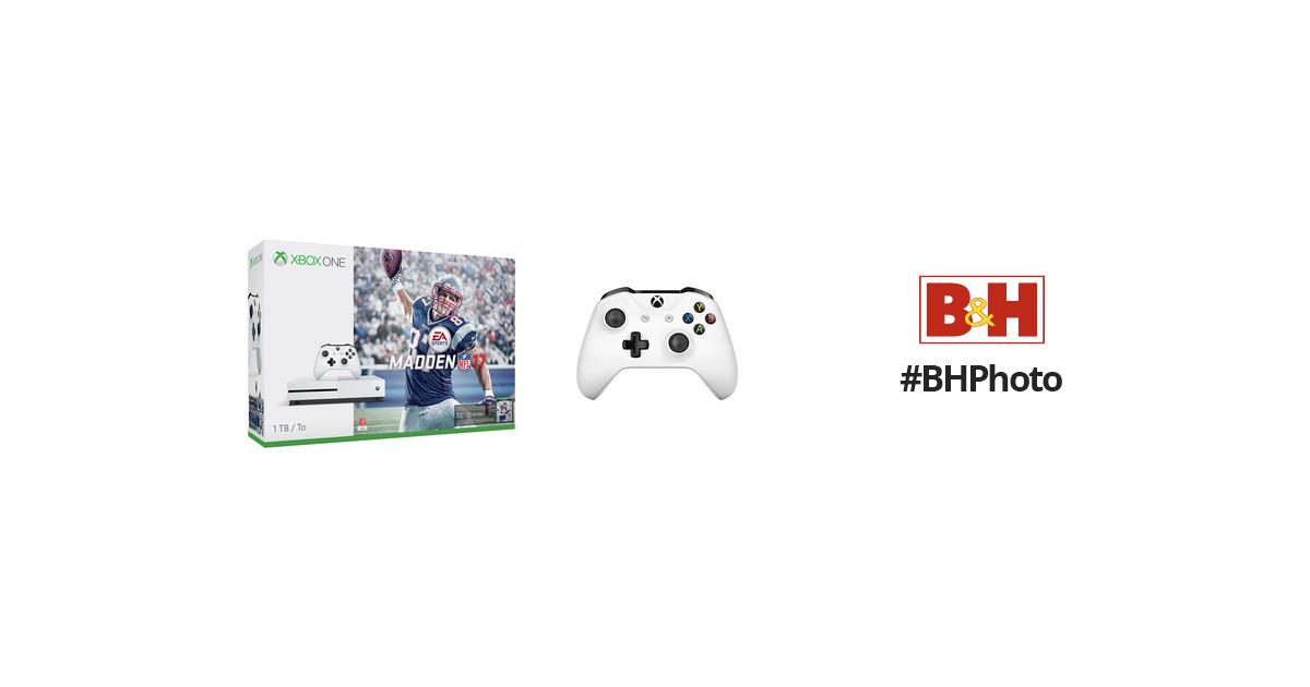 Microsoft Xbox One S Madden Nfl 17 Bundle Amp Additional Xbox