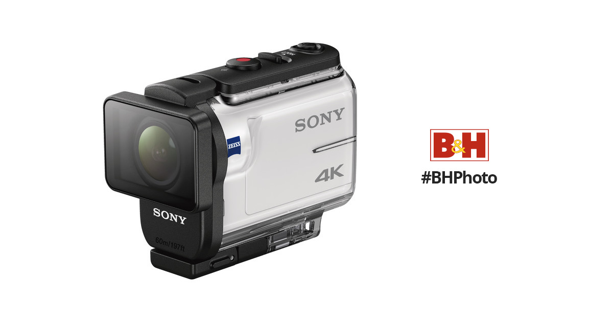 Sony FDR-X3000 Action Camera FDRX3000/W B&H Photo Video