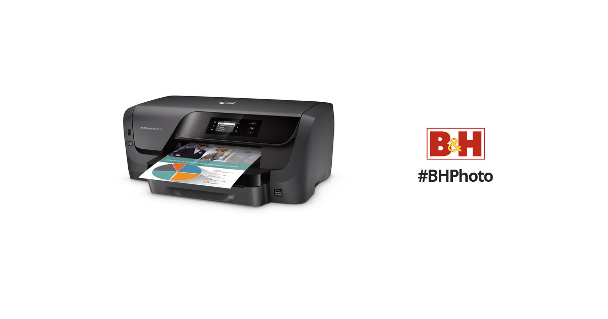 hp officejet pro 8210 inkjet printer d9l64a b1h b h photo video. Black Bedroom Furniture Sets. Home Design Ideas