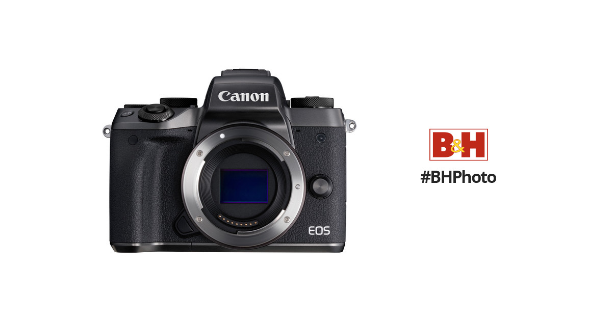 Canon M5 Mirrorless EOS Digital Camera (M5 Camera Body) 1279C001AA