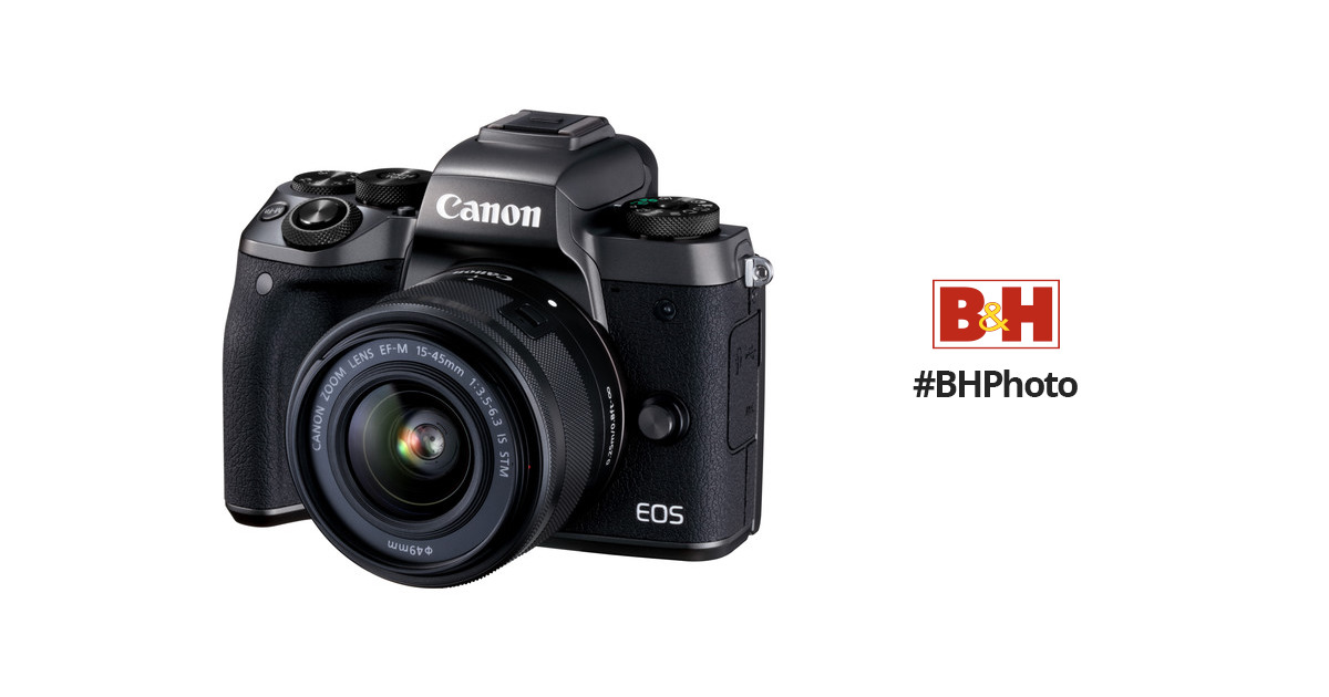 Canon Eos M5 Mirrorless Digital Camera With 15 45mm 1279c011aa