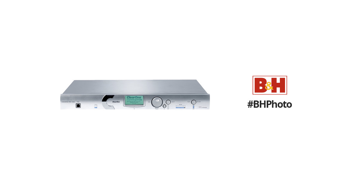 Details about  /ClearOne Converge Pro VH20 Conferencing VoIP Voice over IP Interface