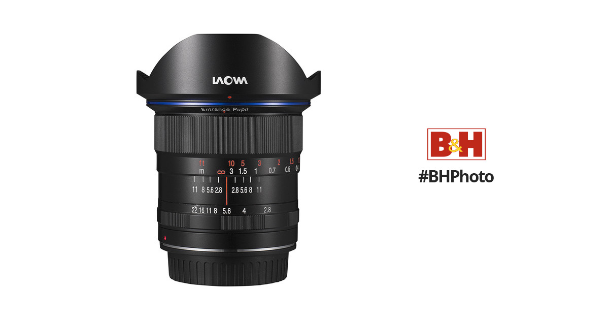 Venus Optics Laowa 12mm f/2.8 Zero-D Lens for Canon EF VE1228CEF