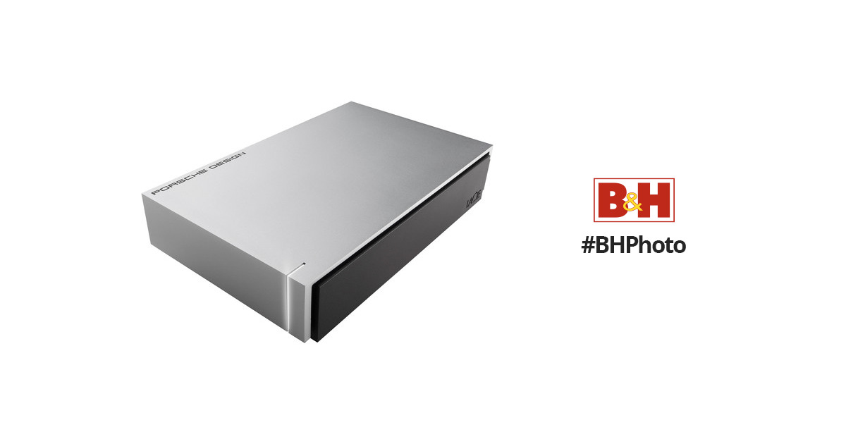 Lacie 3tb Porsche Design Desktop Drive For Mac Stew3000400 B Amp H