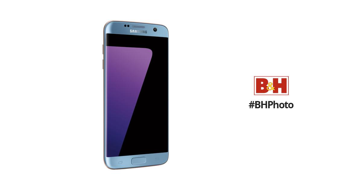 SamsungGalaxy S7 edge SM-G935F 32GB Smartphone (Unlocked, Blue)