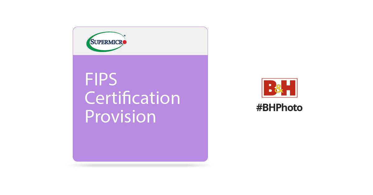 Supermicro Fips Certification Provisioned Aom Tpm 9665v Fs P Bh