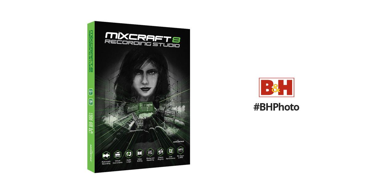 mixcraft 8 free full version