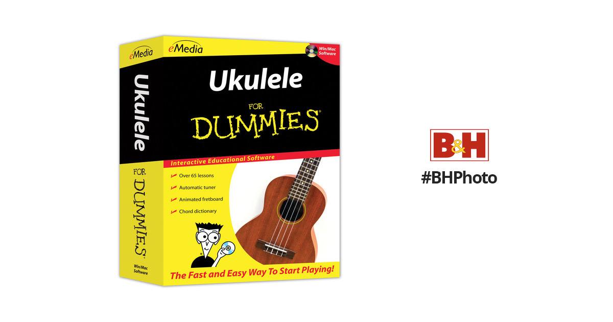 Emedia Music Ukulele For Dummies Fd10161dlm Bh Photo Video