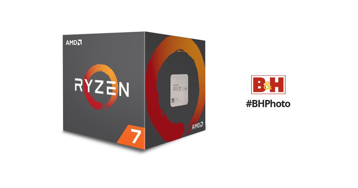 AMD Ryzen 7 1700 3 0 GHz Eight-Core AM4 Processor