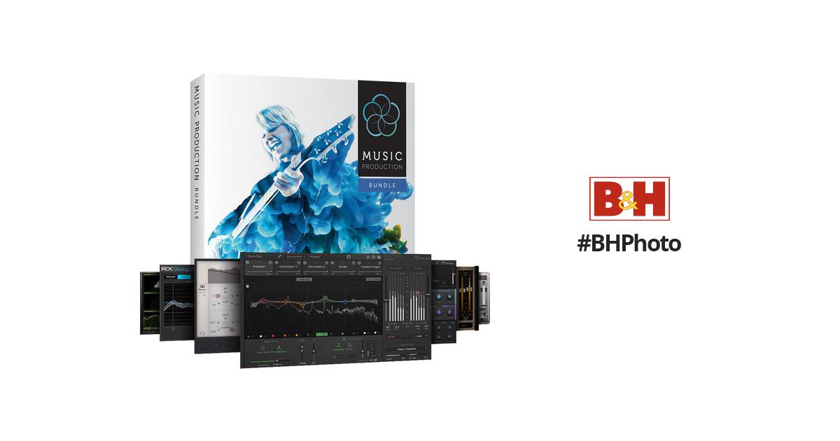 iZotope Music Production Bundle 2 - Plug-Ins Suite 70-MPB2XGADV