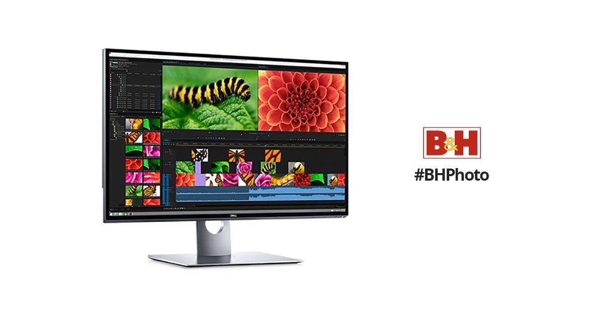 dell up3218k 31 5 16 9 8k ips monitor up3218k b h photo. Black Bedroom Furniture Sets. Home Design Ideas