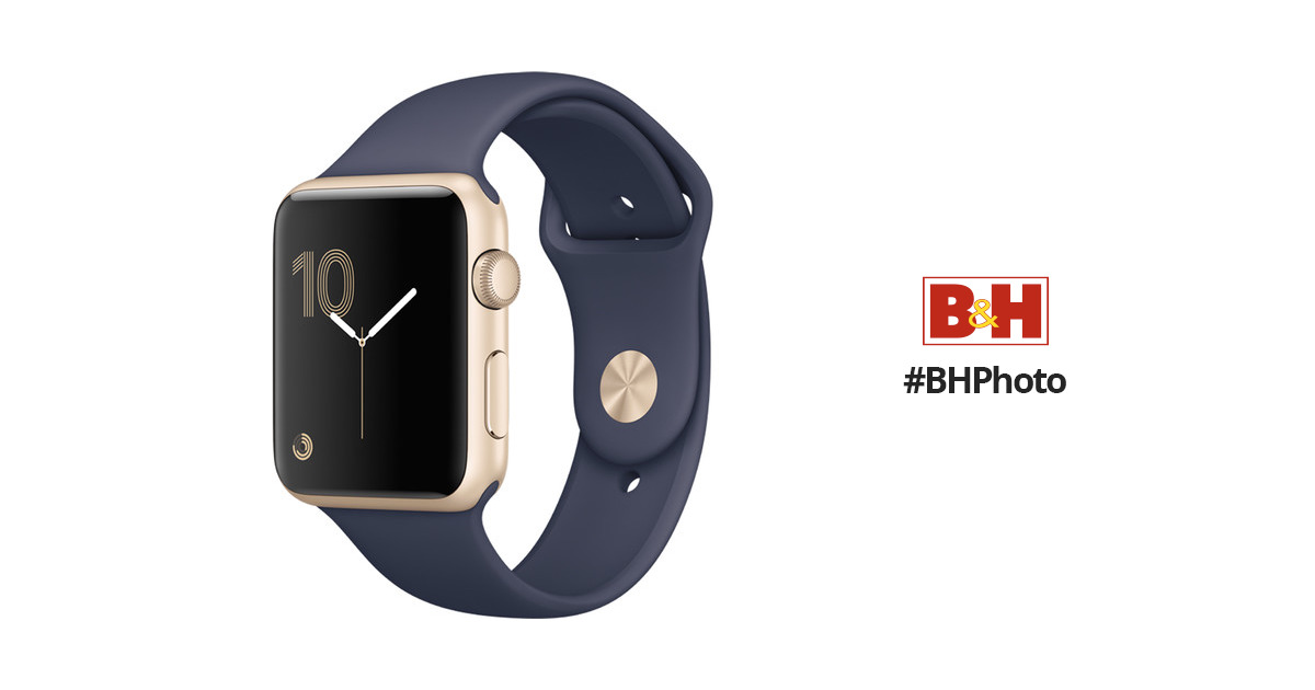 apple watch series 1 42mm smartwatch mq122ll a b h photo video. Black Bedroom Furniture Sets. Home Design Ideas