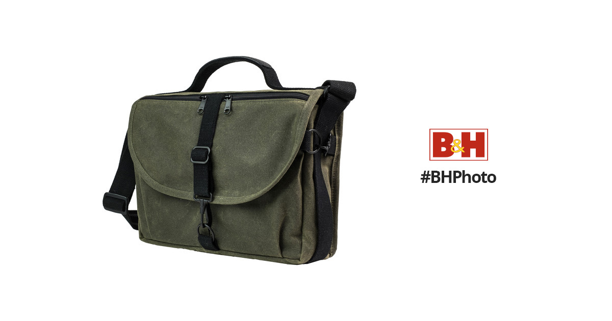 54986c6148 Domke F-803 RuggedWear Messenger Bag (Military Green) 701-83M