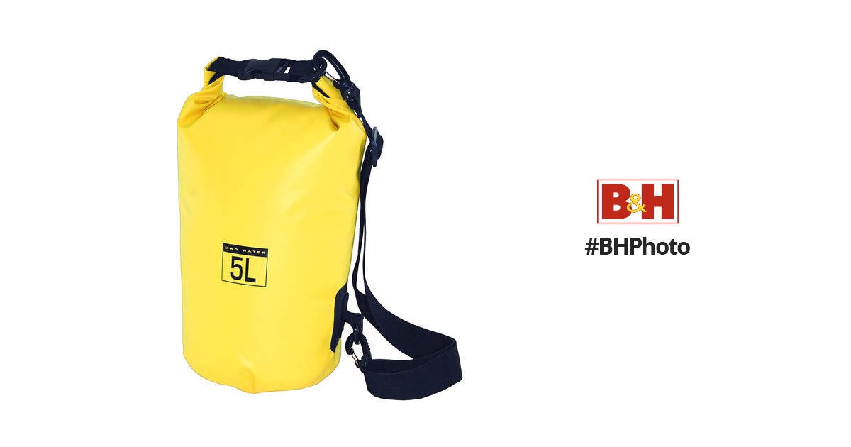 b1ebc0d089 Mad Water Classic Roll-Top Waterproof Dry Bag (5L
