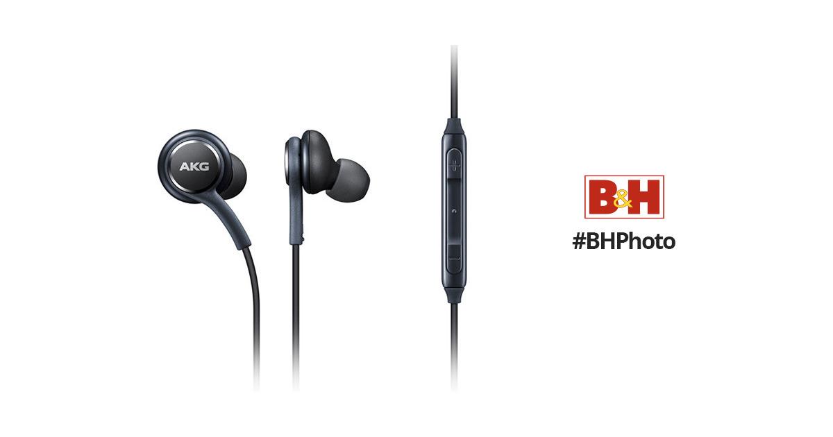 samsung earphones tuned by akg gray eo ig955bregus b amp h photo