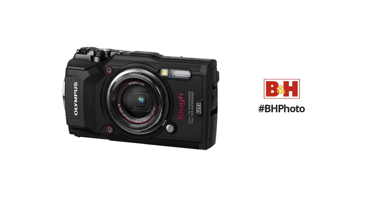 olympus tg5 digital camera olympus tg 5 camera black b h rh bhphotovideo com Olympus Camera Accessories Olympus SP 600Uz Manual User