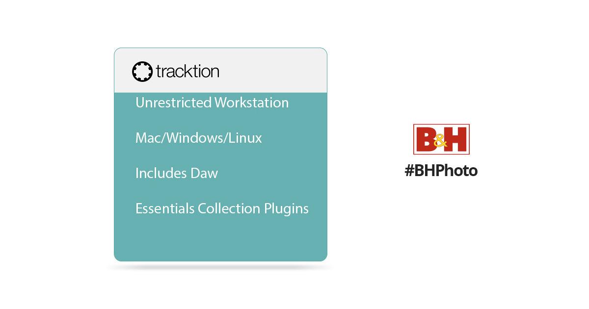 tracktion Waveform 9 Plus - Music Production Software Bundle (Download)