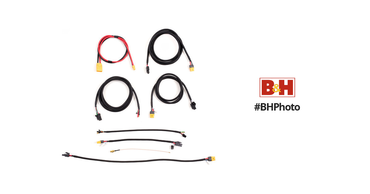 freefly movi xl wiring harness spare kit 910