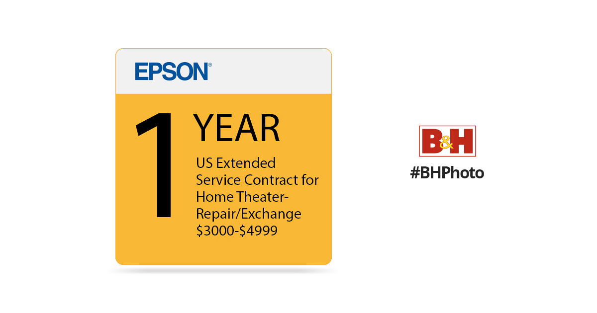 Epson Year Us Extended Service Contract For Home Eppsnphtrh