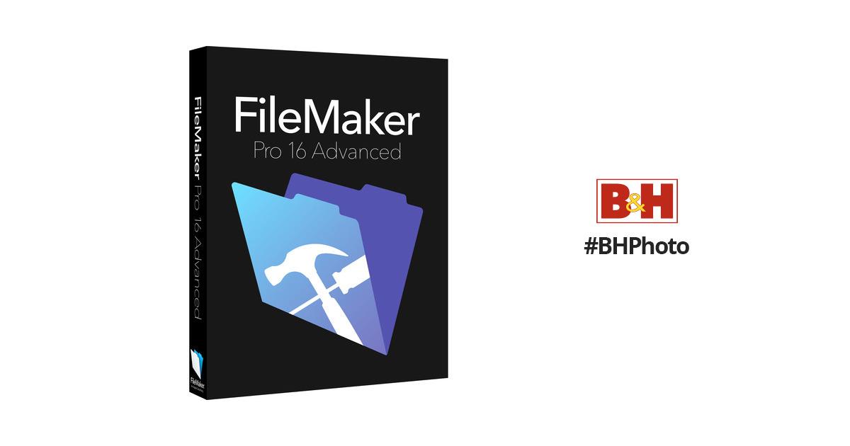 FileMaker Pro 16 Advanced (Standard, Boxed)