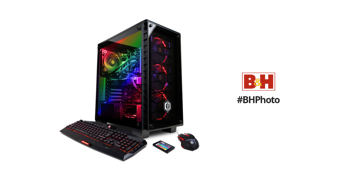 b6f75dd2a32 CyberPowerPC BattleBox Ultimate Liquid Cool Desktop SLC8660BH