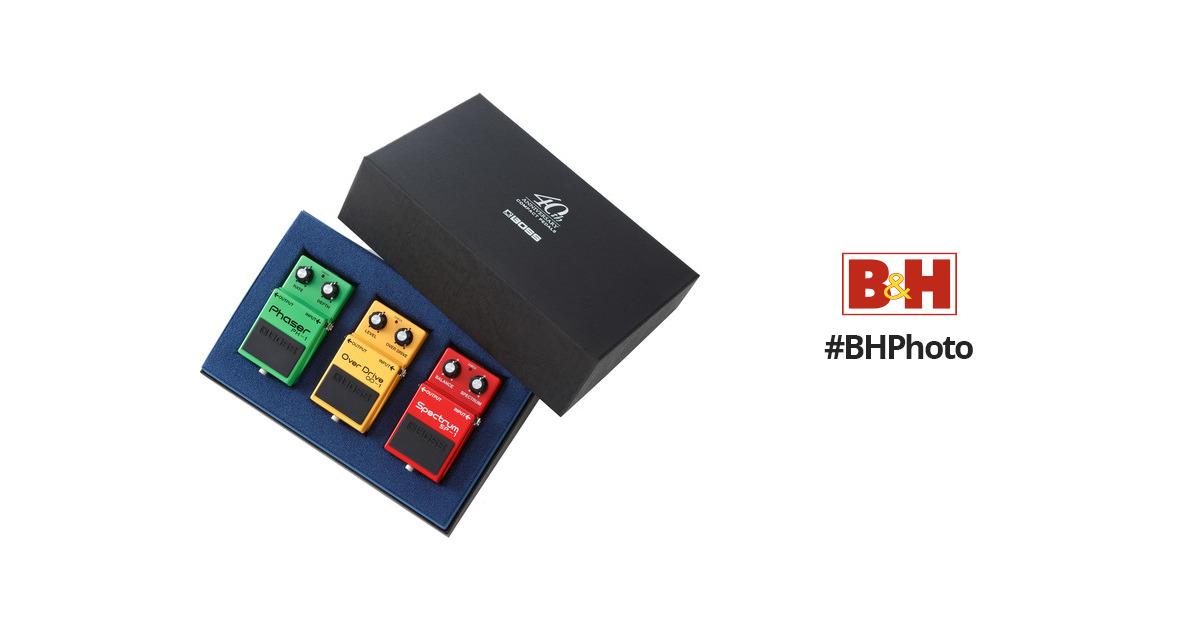 boss box 40 compact pedal 40th anniversary box set box 40 b h. Black Bedroom Furniture Sets. Home Design Ideas