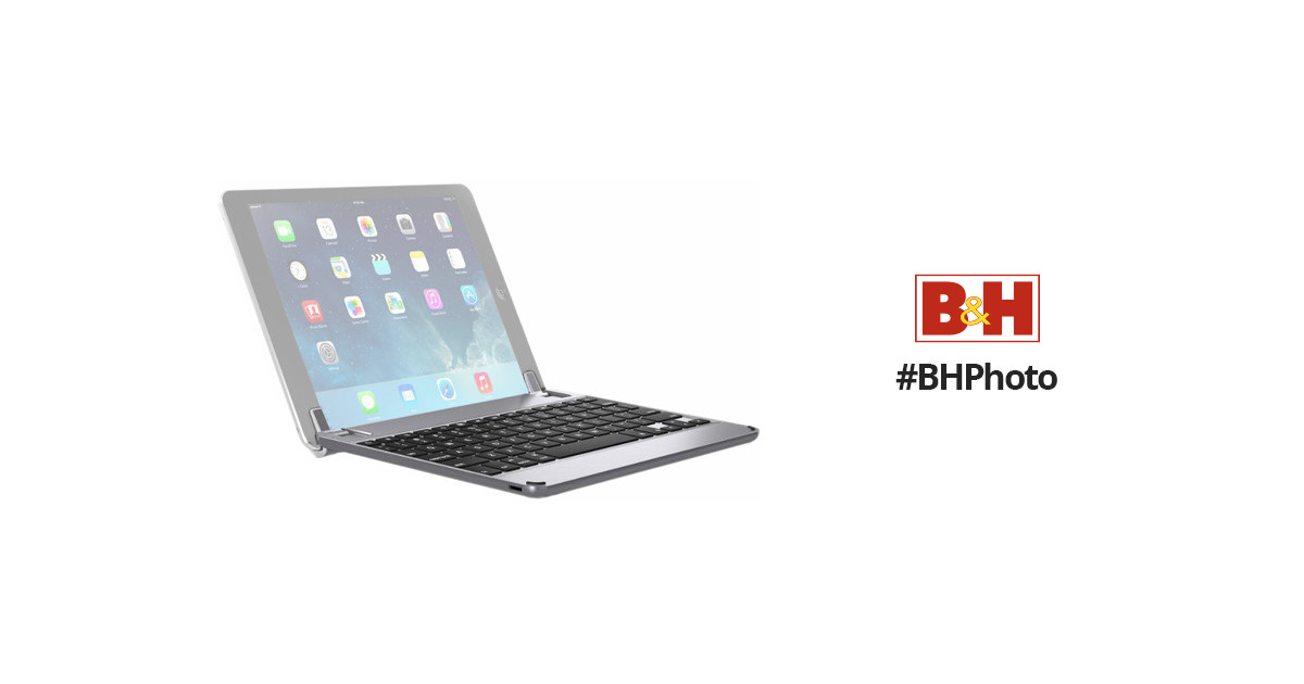 aluminum bluetooth keyboard for ipad pro 10.5-inch - space grey