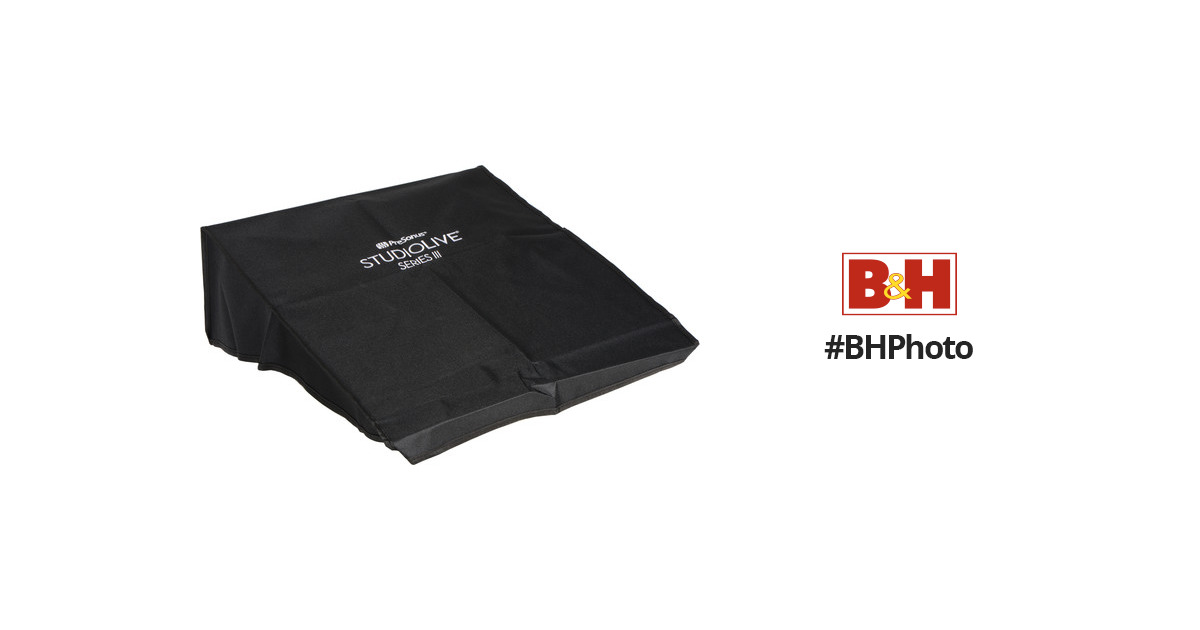 presonus studiolive 32 series iii console cover prslmad32cvr b h. Black Bedroom Furniture Sets. Home Design Ideas