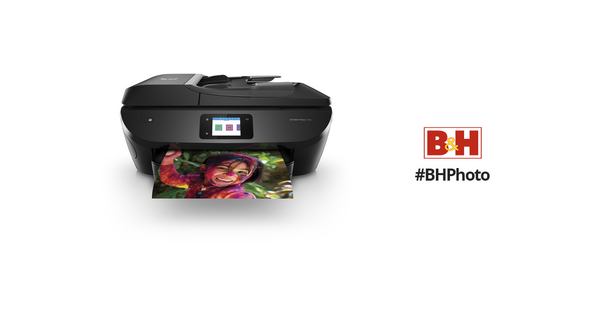 Hp Envy Photo 7855 All In One Inkjet Printer K7r96ab1h Bh