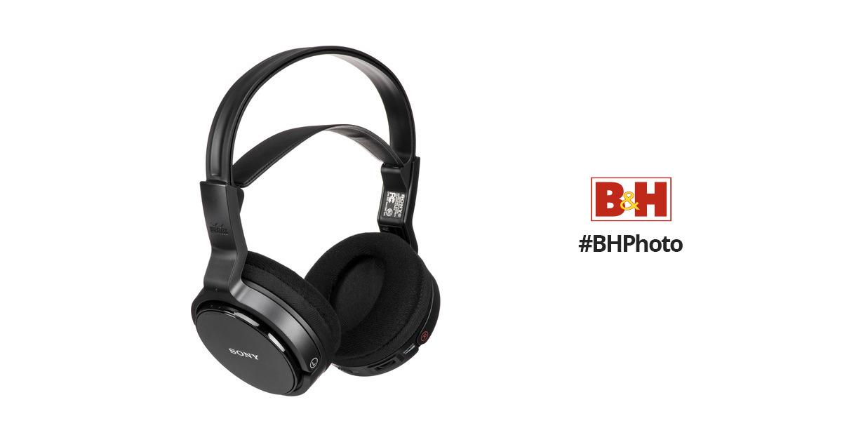 Sony Mdr Rf912rk Wireless Rf Headphone System Mdrrf912rk Bh