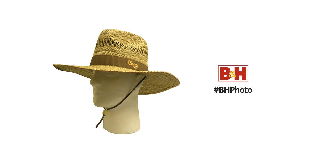 Glacier 52TNGR-L//XL Sonora Straw Hat w//Full Brim Large//XL