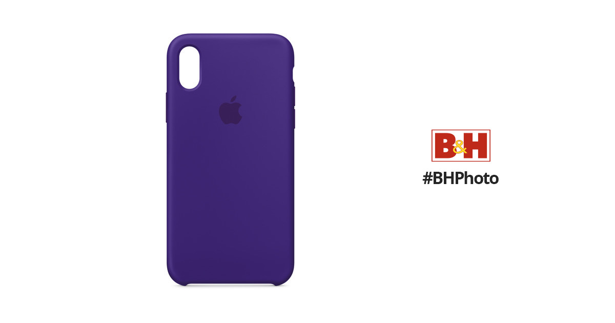 sale retailer 1677b 9cf69 Apple iPhone X Silicone Case (Ultra Violet)