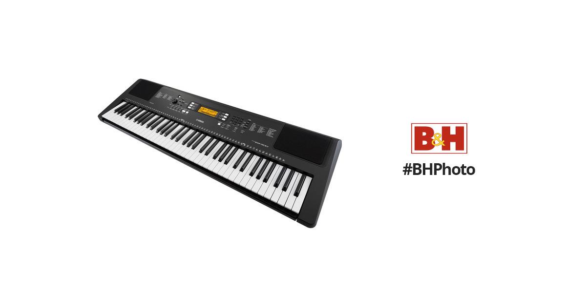 Yamaha psr ew300 76 key portable keyboard psrew300 b h photo for Yamaha psr ew300 keyboard