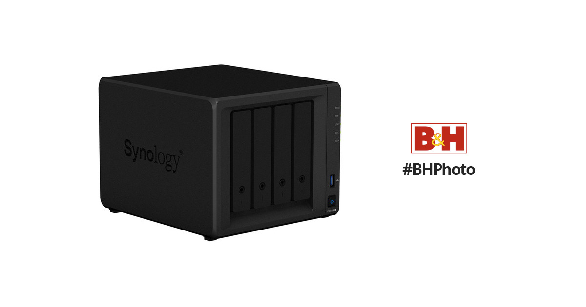 Synology DiskStation DS918+ 4-Bay NAS Enclosure
