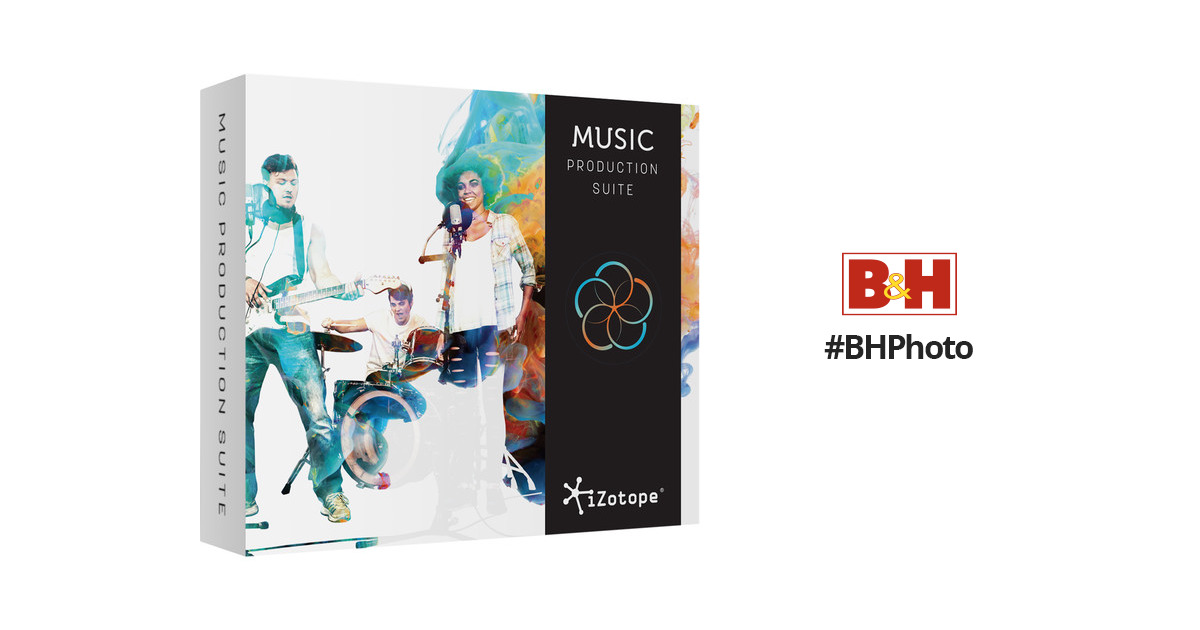 iZotope Music Production Suite - Plug-Ins Suite 70-MPSUPMPB B&H