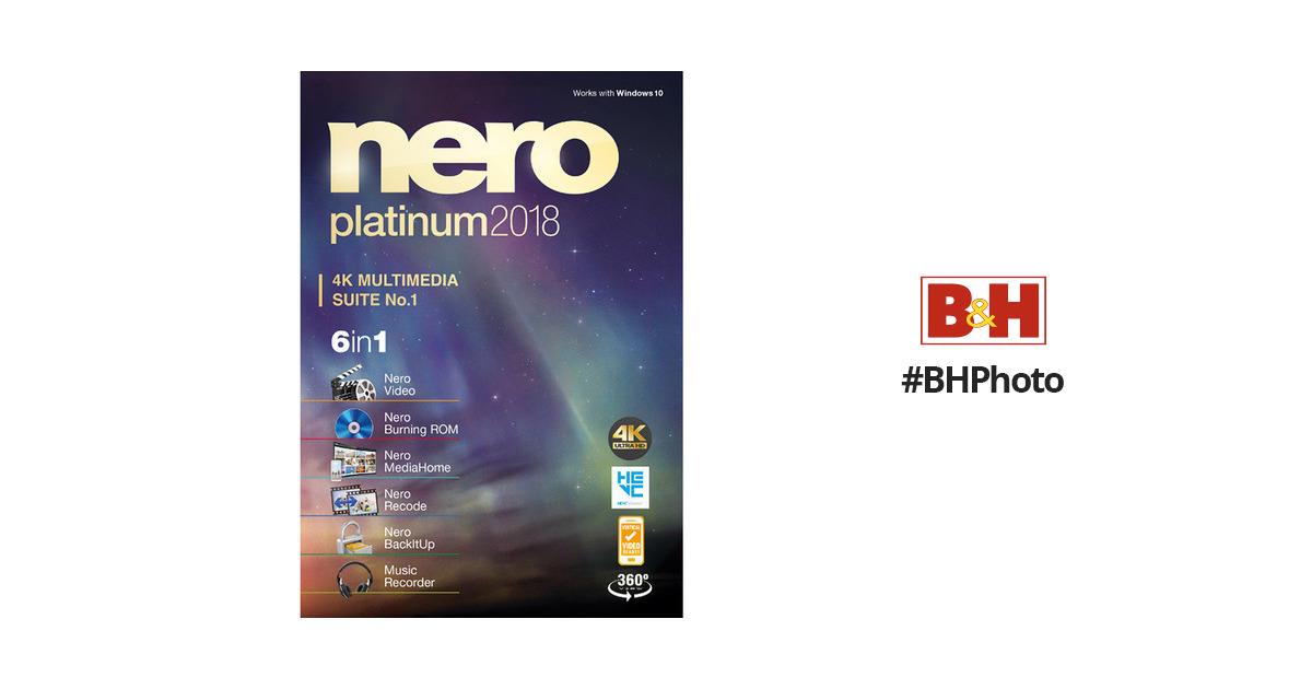 nero platinum 2018 suite trial serial key