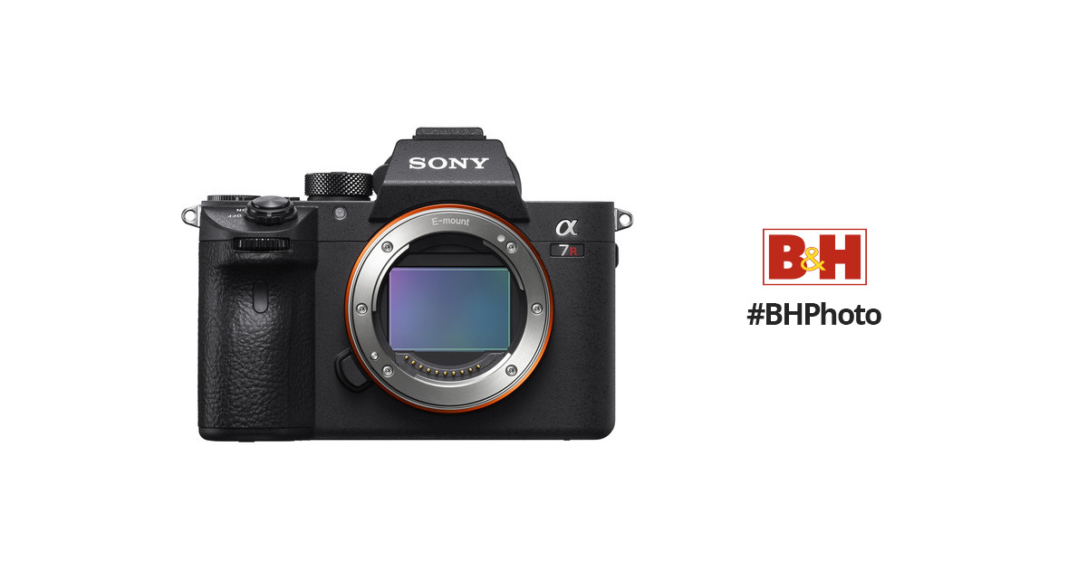 Sony a7R III Alpha Mirrorless Digital Camera ILCE7RM3/B B&H